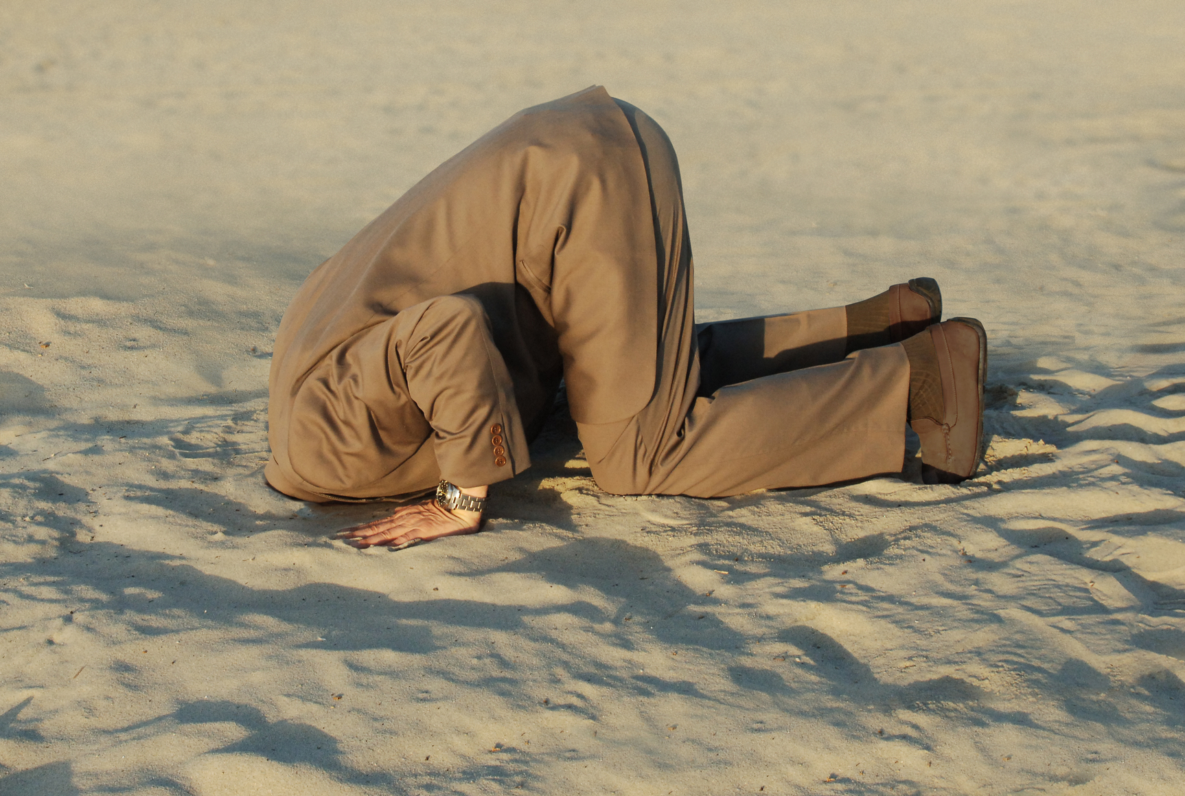 Dominic Byrne DigiToro Blog - Dear CEO, your head is in the sand